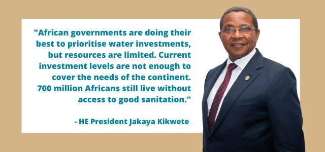 WATCH: HE President Kikwete on urgent need to invest in African water